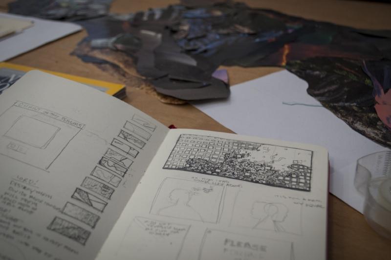 Jeremy Grant's Sketchbook