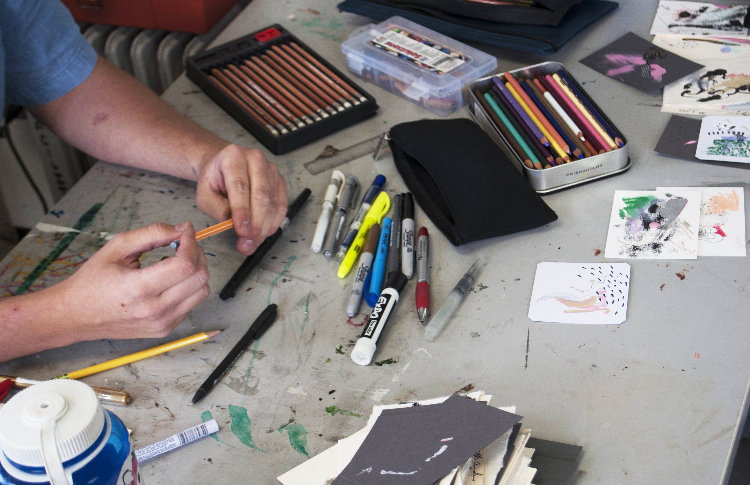 'I'm rejecting the idea that different aspects of my work need to 'fit together'.' - -Drew Austin