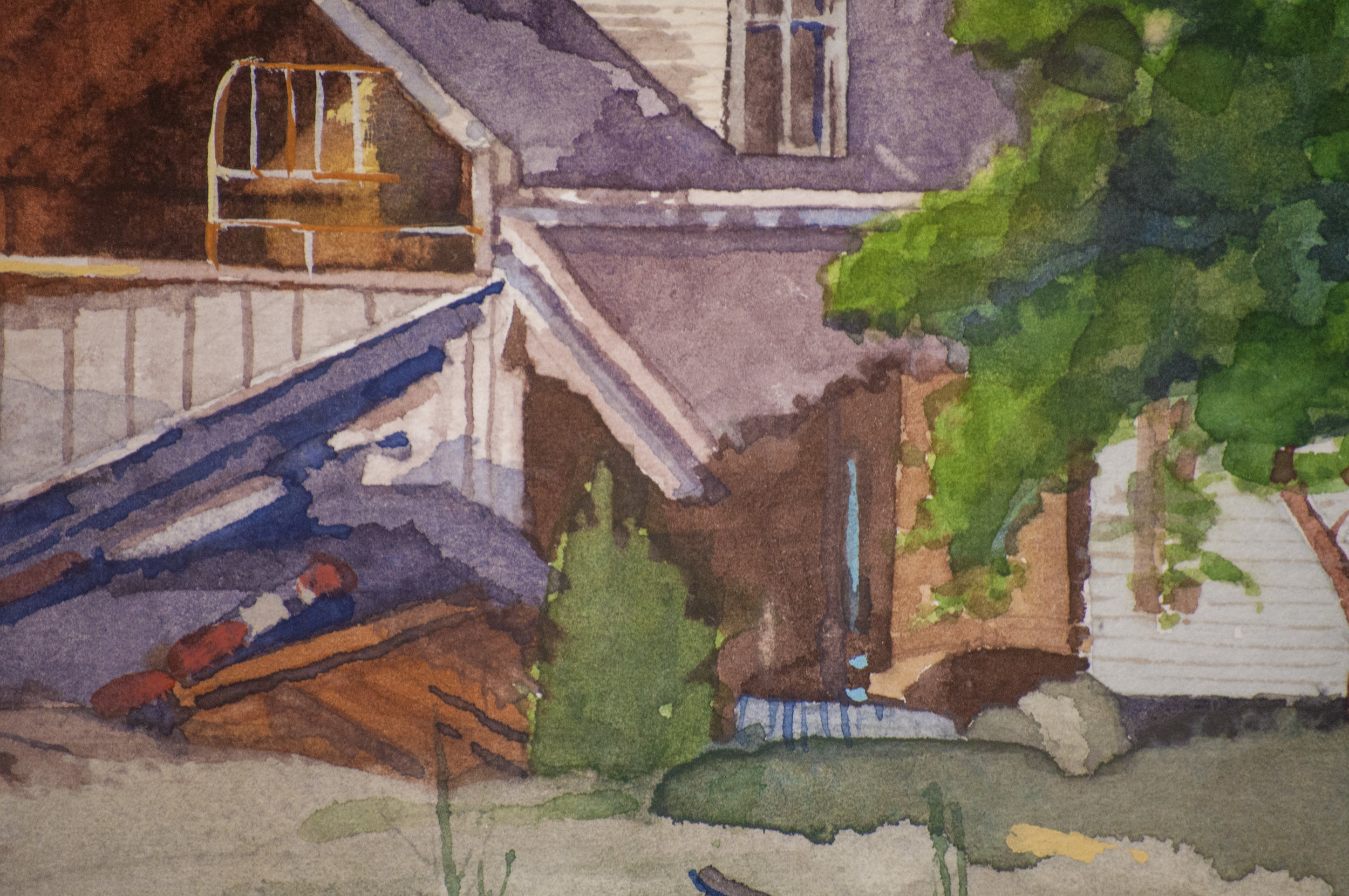 'Island House No. 2' (Detail)