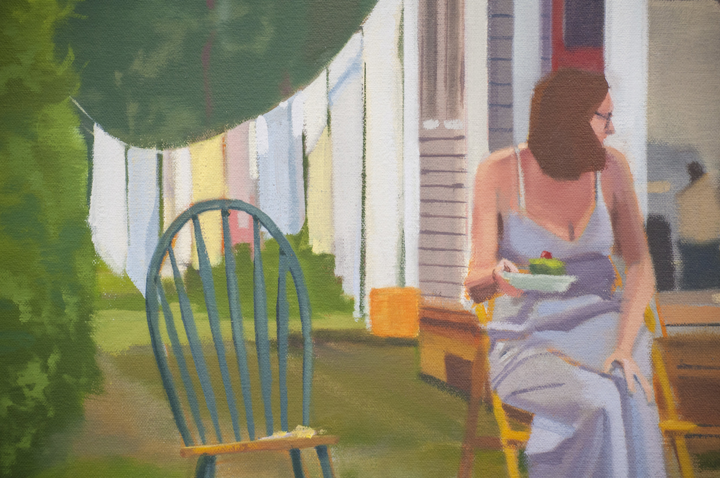 'The Eternal Afternoon' (Detail)