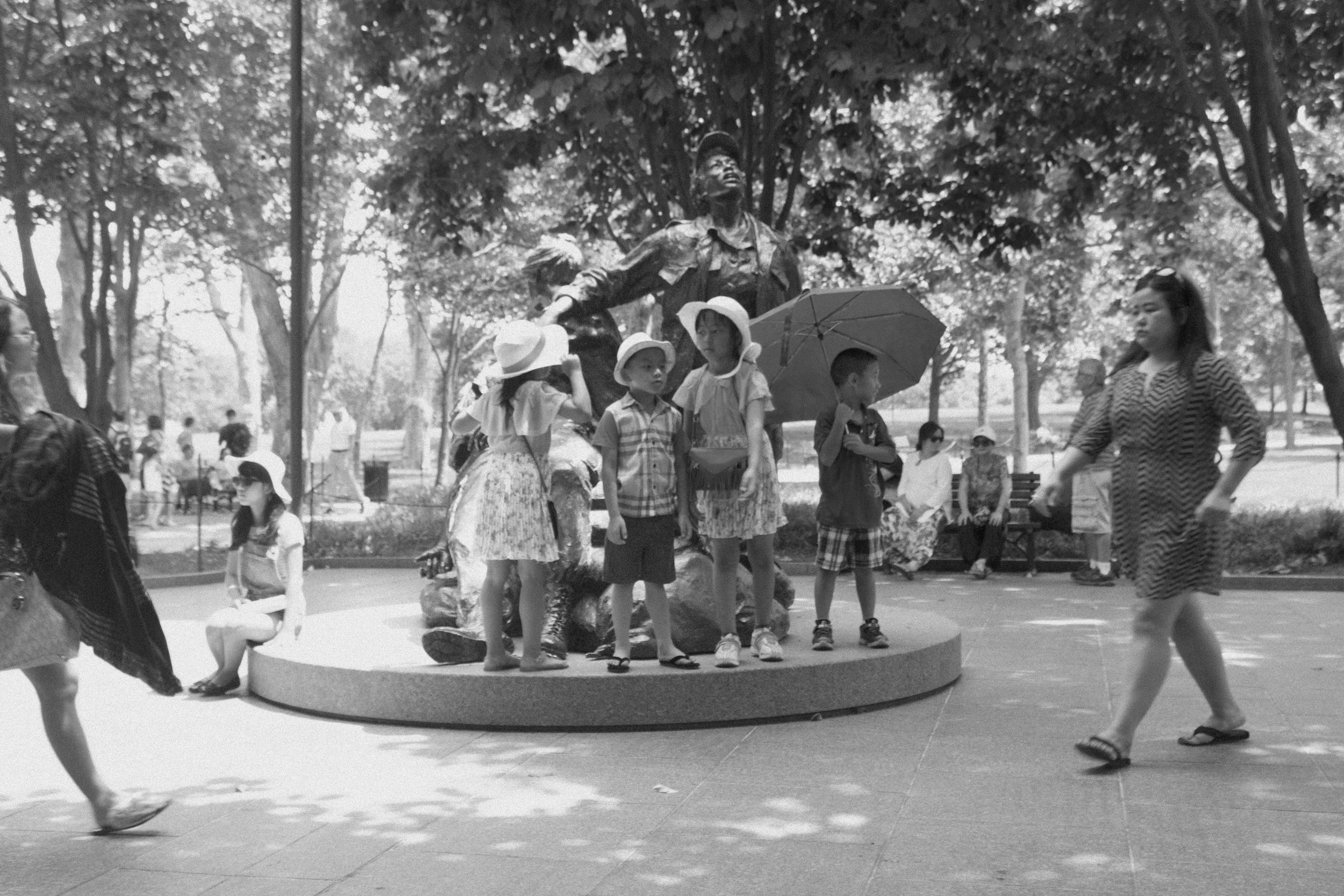 children on memorial, June 2016
