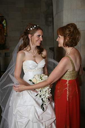 My Mom and me on my wedding day (Photo Credit: Photography By Keel)