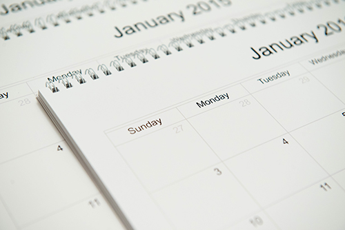 2017 DIY yearly calendar planning for the year - Lisa Villella Photography Blog - www.lisavillellaphotography.com