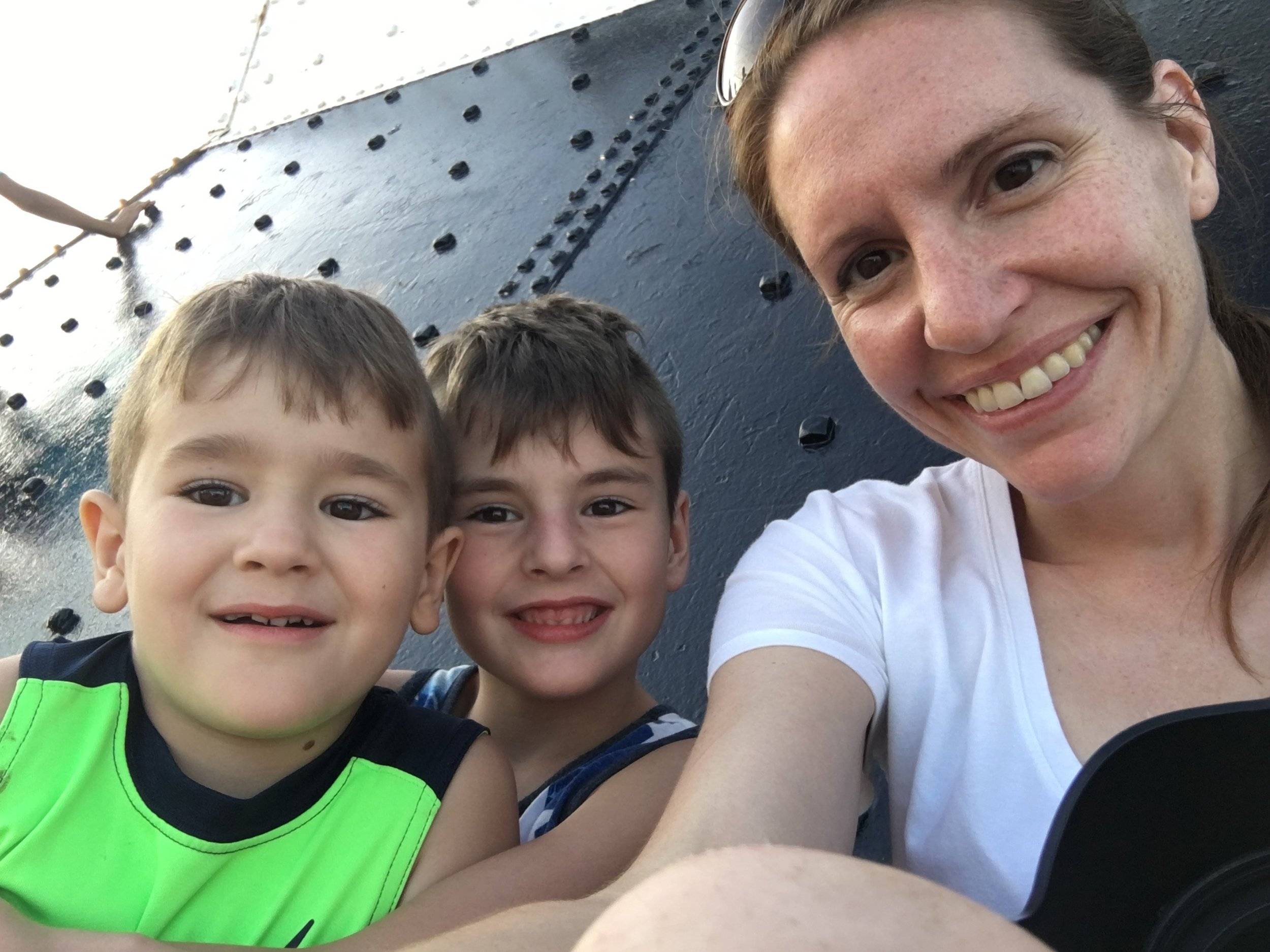 family-vacation-iphone-ludington-michigan