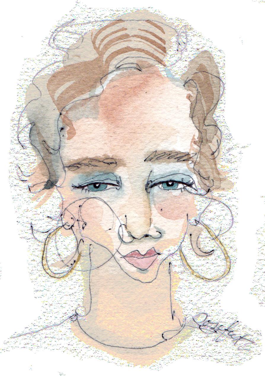 illustration:  rosefur
