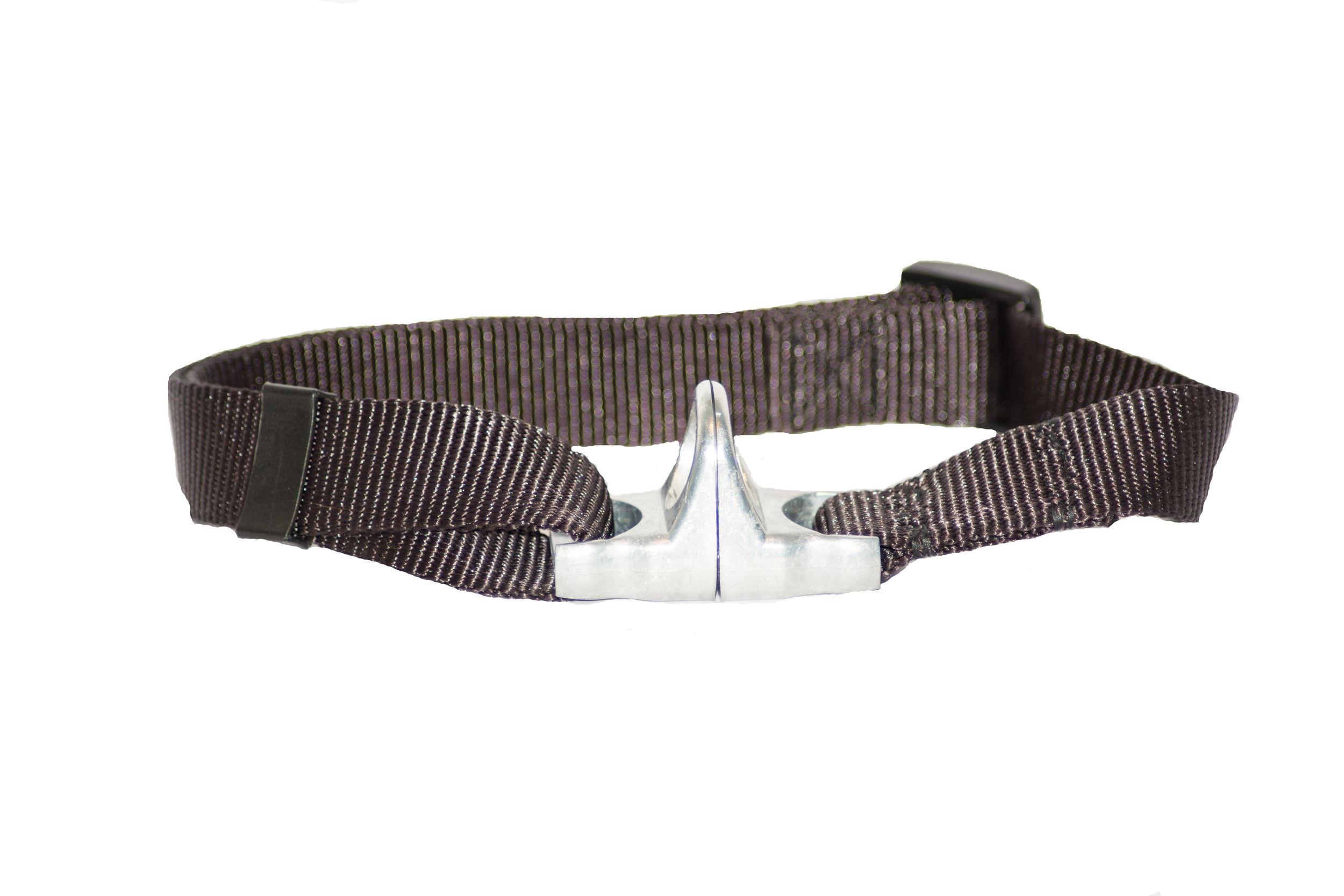 Nickel D-Ring Collar