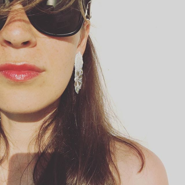 Memories of a Sicilian night in company of #PizzoEarrings .... The breeze,the sun, the warmth...#perfection  #marzamemibella  Miss it!!!!! ... . @casamemi @benedettag . . . . . #aglaia #aglaiajewelry #italiansummer #italy #sicily #marzamemi #recycledsilver #silver #ethicaljewelry #missit #sustainable #unique #pizzo #earrings #lace #mom #rayban #redlips #sundown #cool #wtw #sculpturaljewelry #instapic #iamalmostback