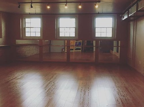 Naked in Motion's Naked! Yoga & Pilates space in Boston