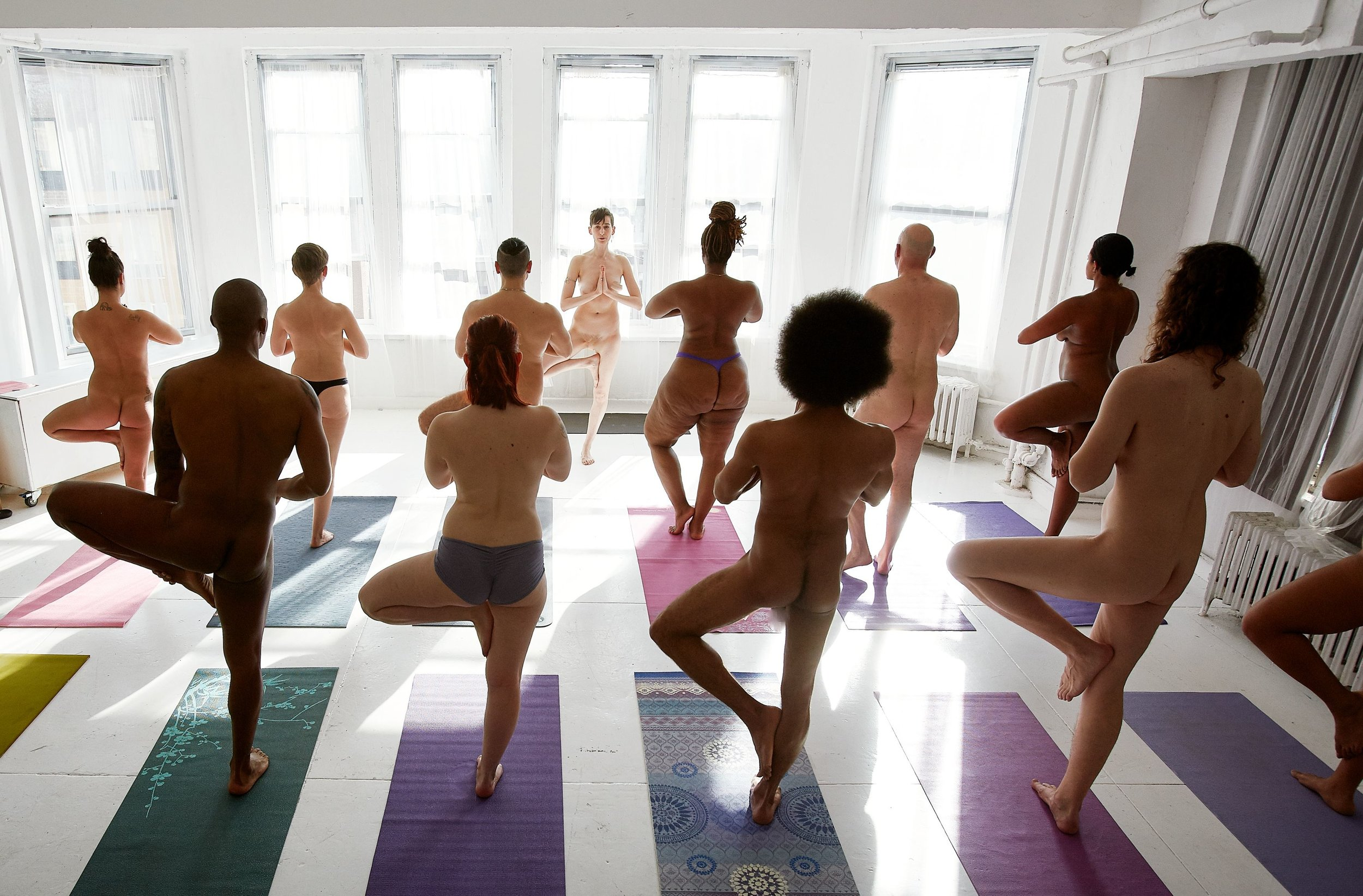 A Naked! Yoga & Pilates class with Willow at Naked in Motion