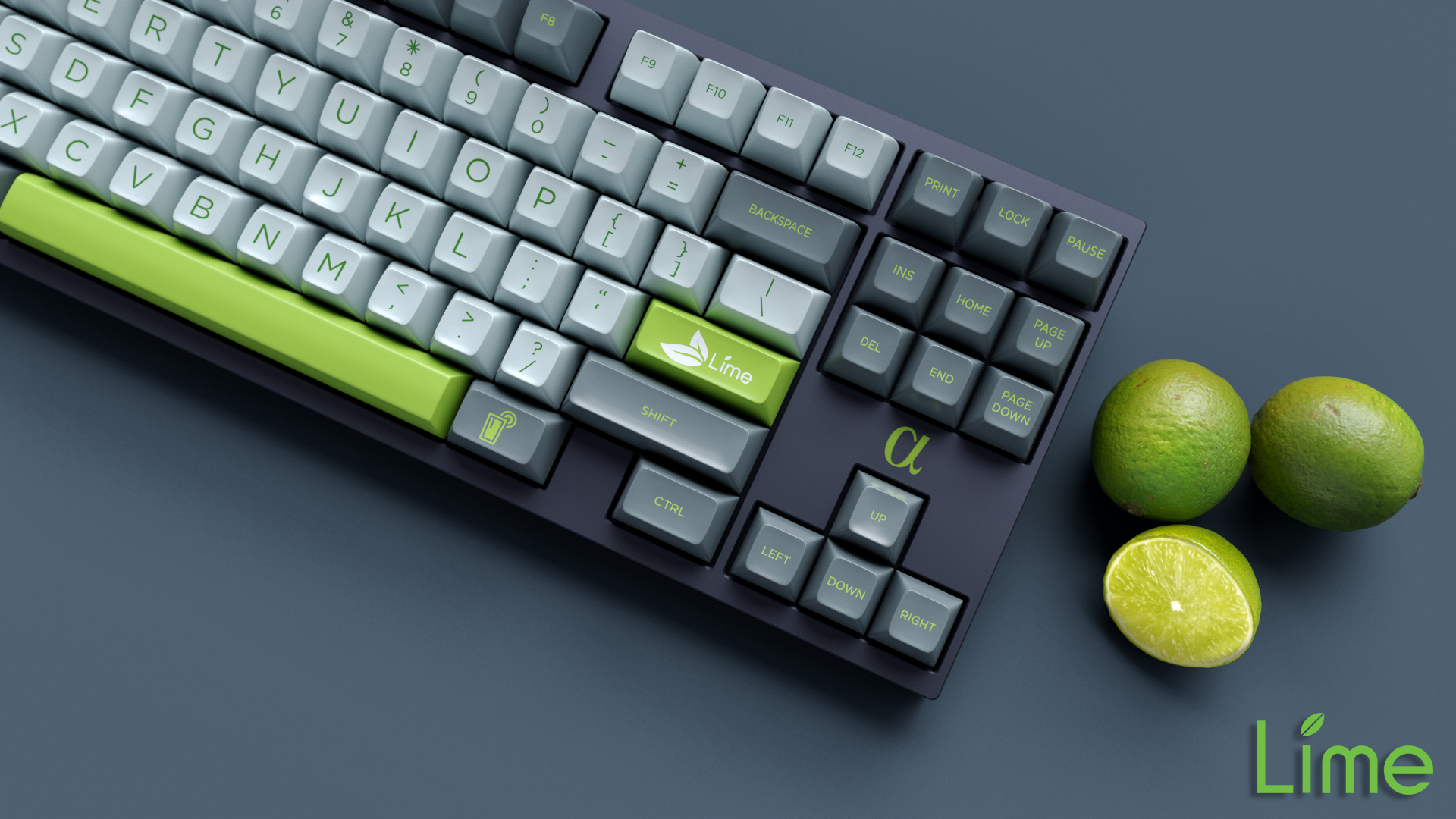 SA Lime | keyset design by kingnestea