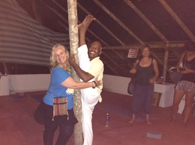 WOW this was an awesome Hatha yoga lesson with this master