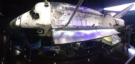 Atlantis at Kennedy Space Center.