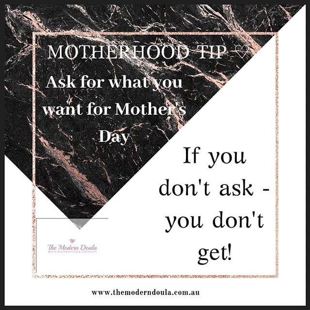 I have put my order in for Mother's Day already! Are you just hoping for something amazing and probably going to get chocolates and cleaning products ;) ?!? #mothersdaygiftideas #moderndoula #perthbirthdoula #perthmotherhoodkeepsakes