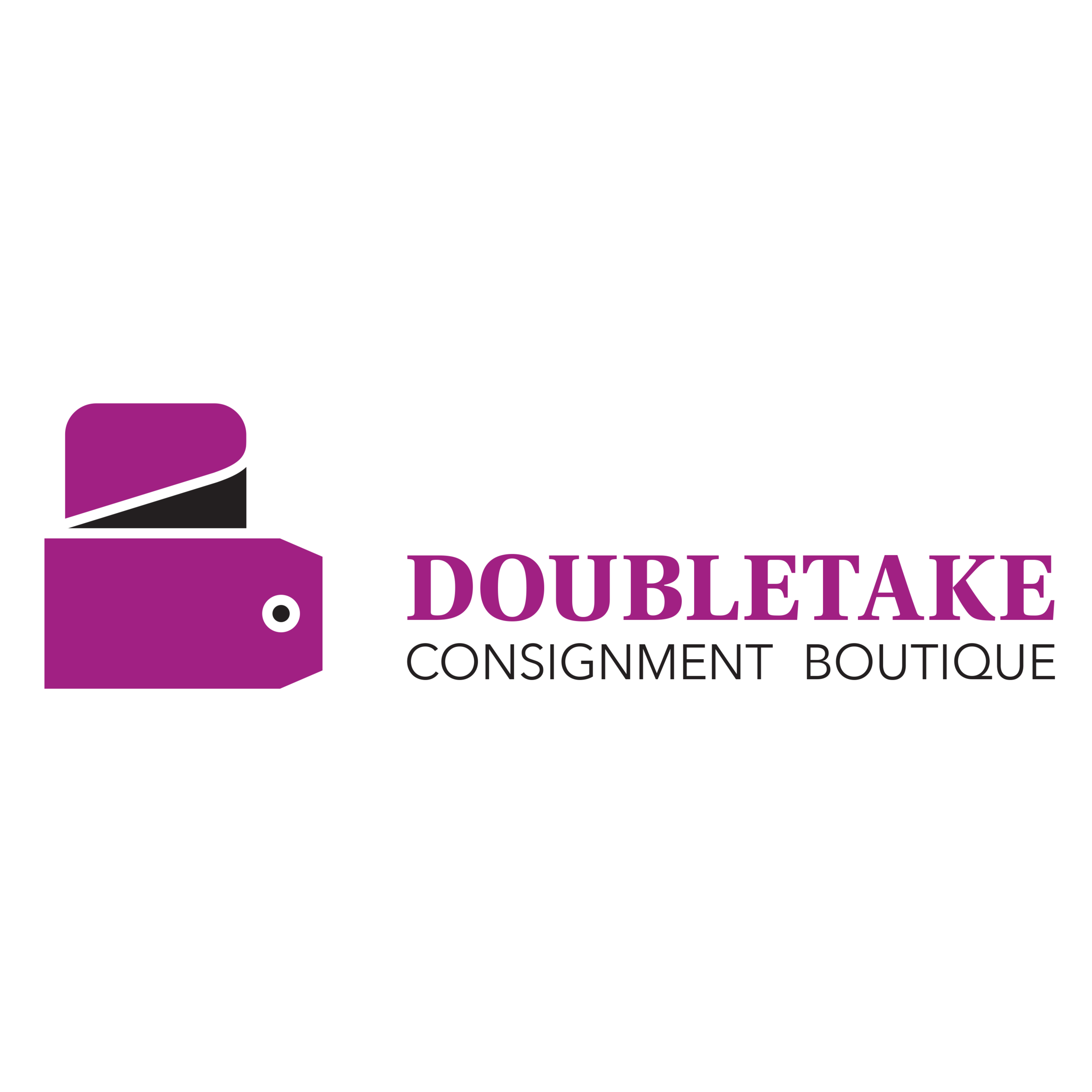 doubletake consignment boutique  DoubleTake is an upscale consignment store which provides a fashion forward recycling concept for women where they  can purchase high end and department store brands at a fraction of the cost.