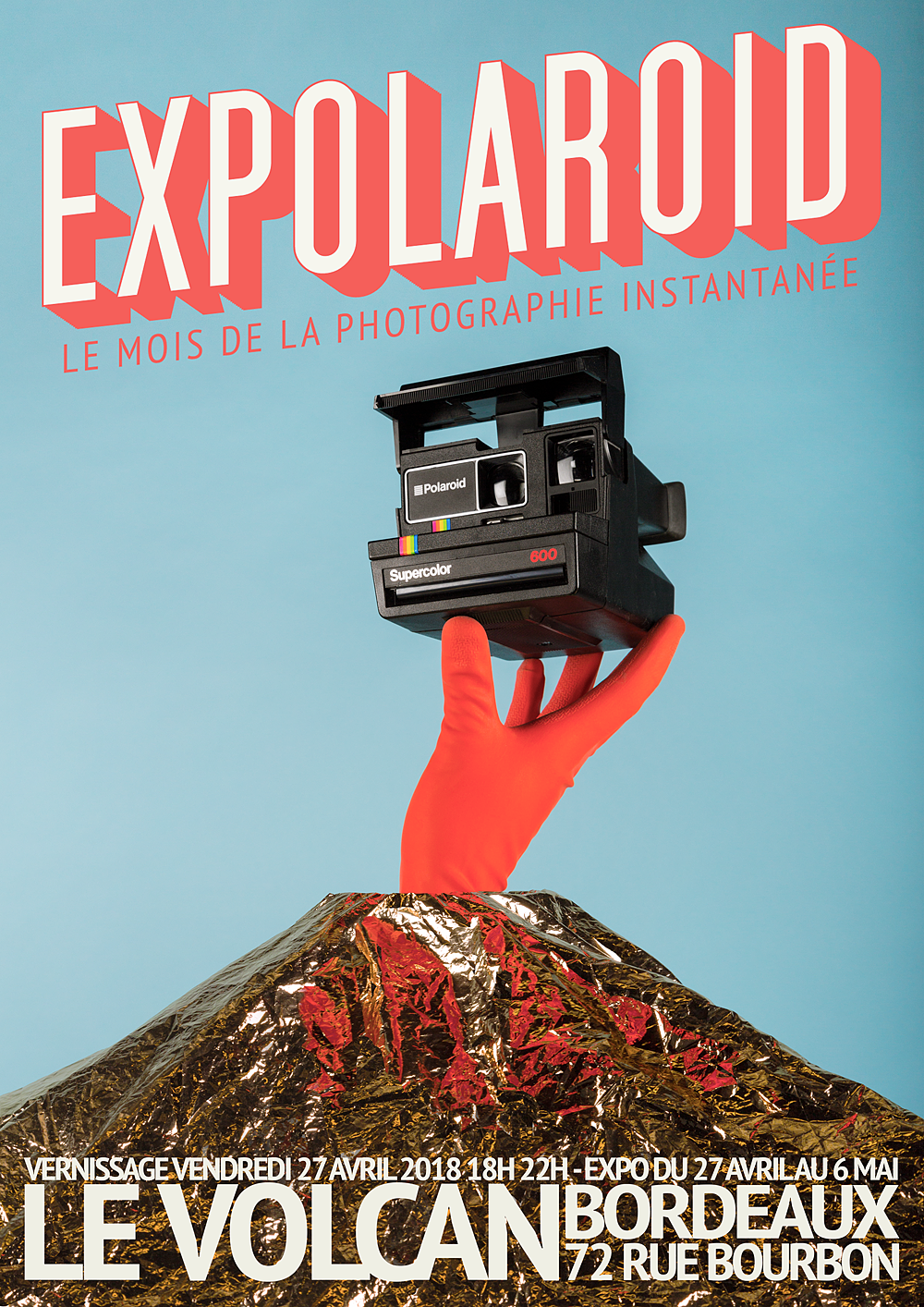 expolaroid bordeaux  - vernissage  vendredi 27 avril 18h au Volcan