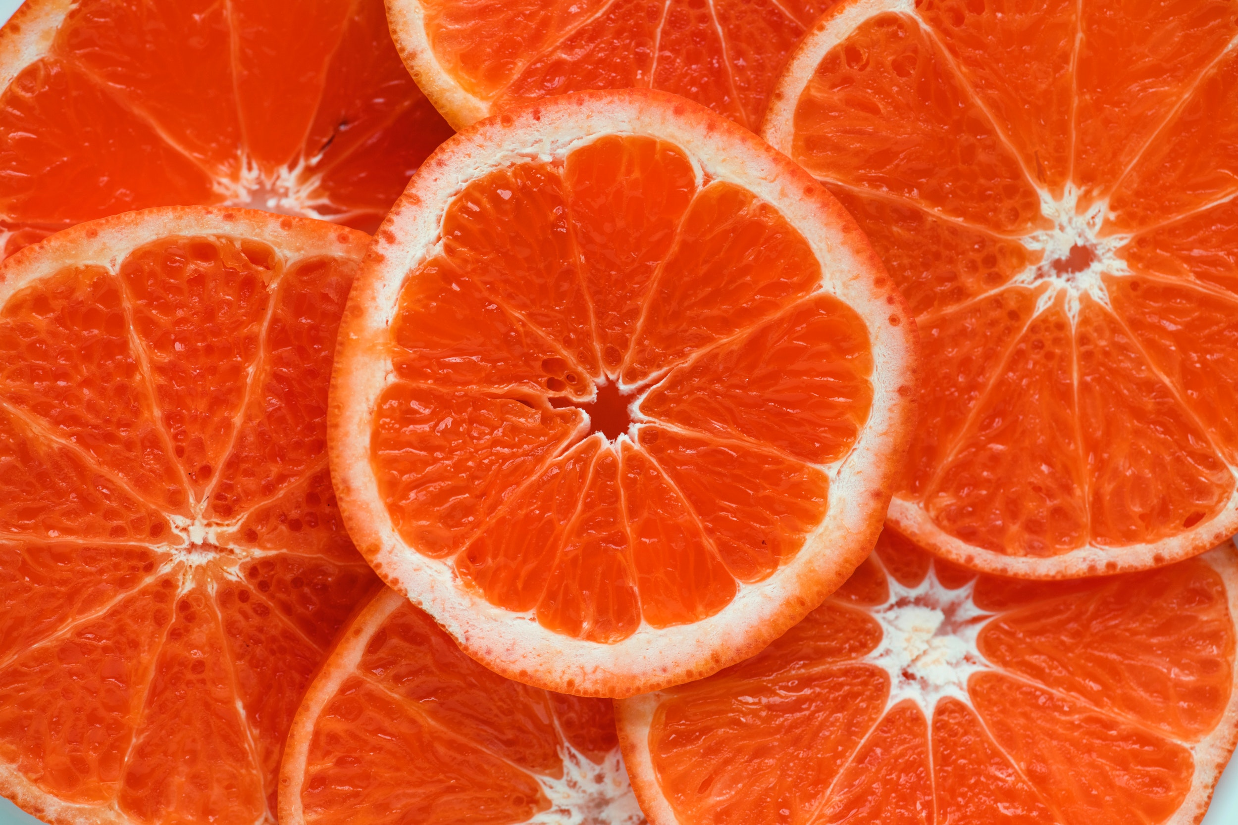 Citrus fruits are high in Vitamin C which helps to boost iron absorption.