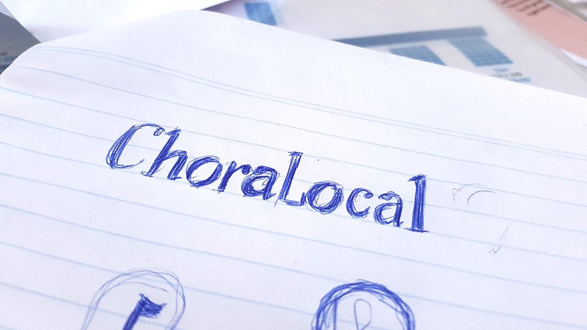 The ChoraLocal typeform development.