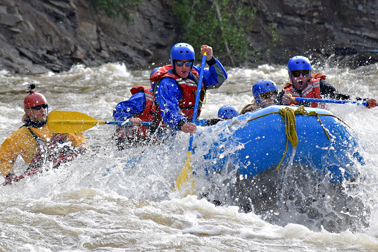get into the groove on the sulphur river, then it's time for sheep creek maddness!