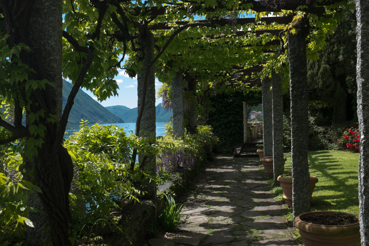 Garten in Oria