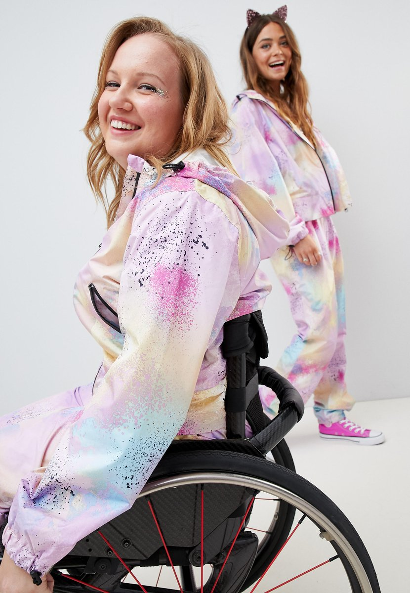 Pictured: Chloe and her friend smile into the camera as they model their jumpsuits.