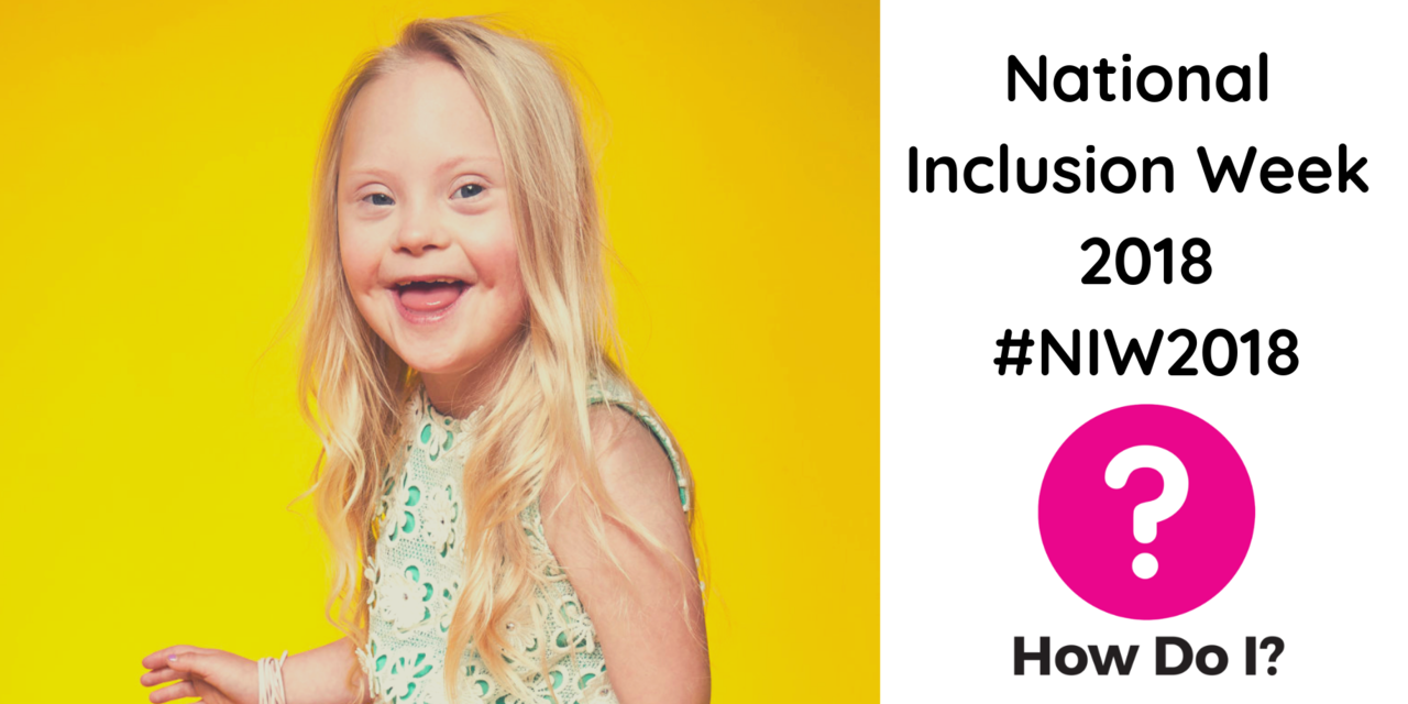 National Inclusion Week 2018 - # NIW2018: pictured is a close up one of the models with disabilities who starred River Island's 'labelsareforclothes' campaign, she is smiling into the camera and wearing a green dress