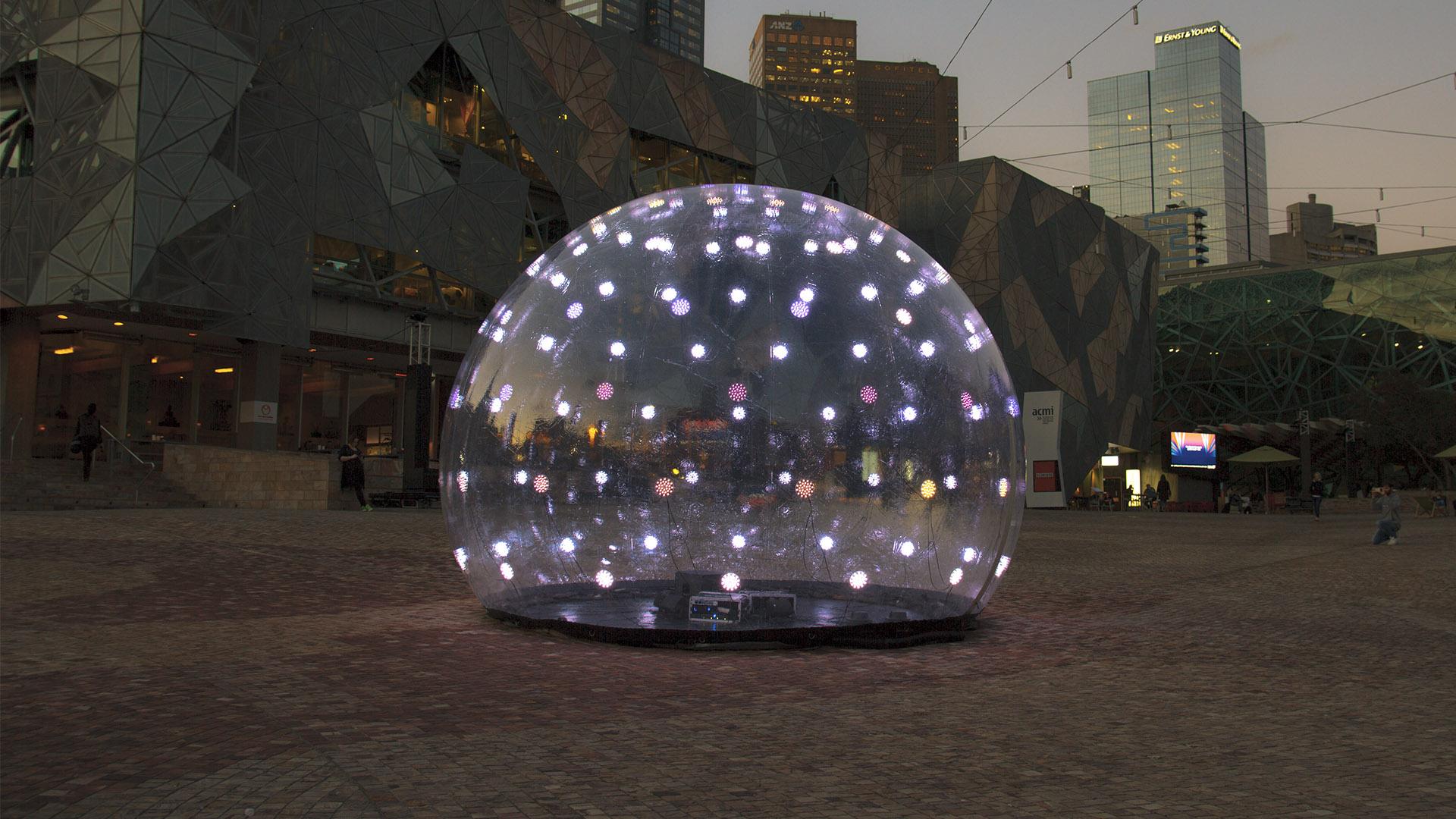 Sonic Light Bubble - Federation Square
