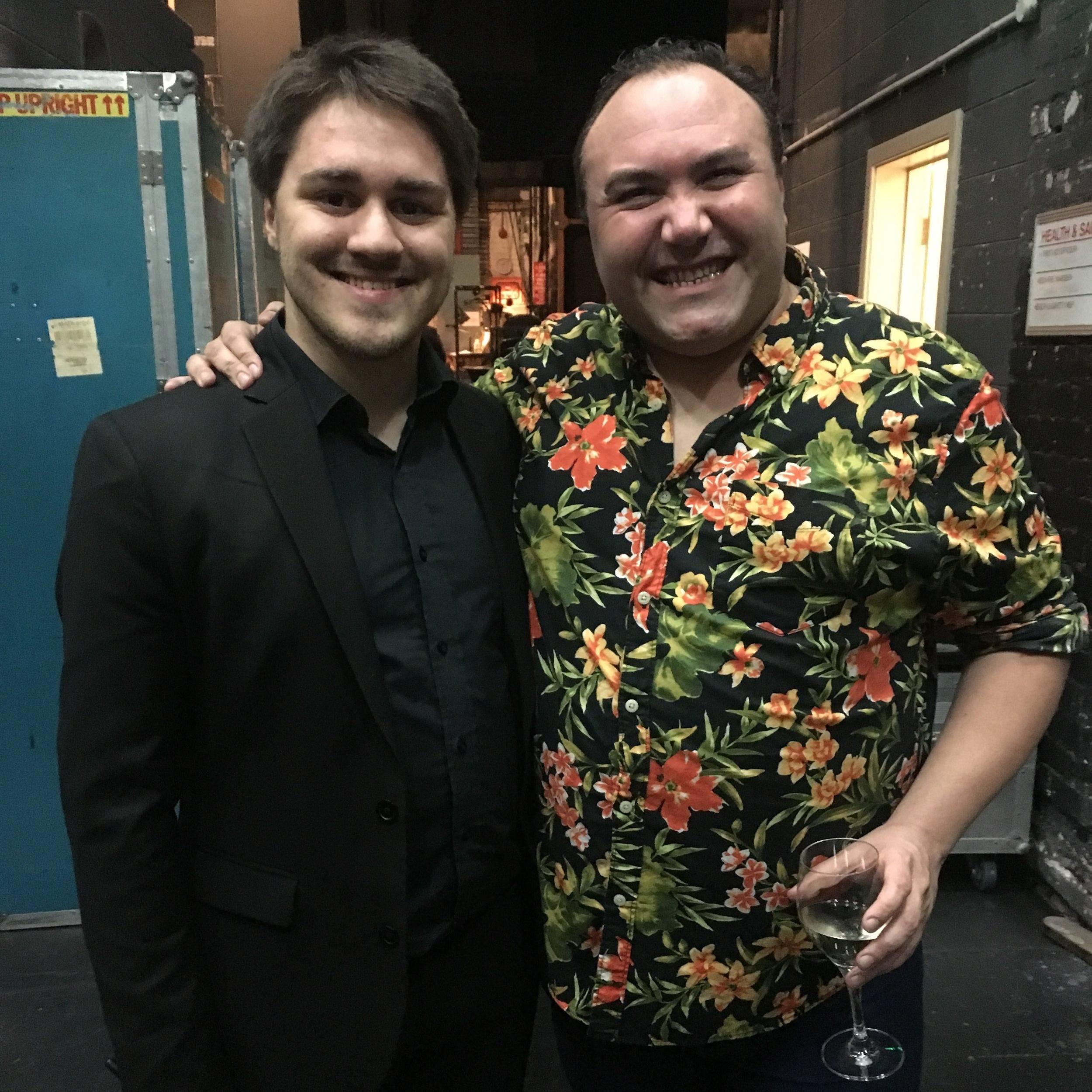 Emile Ryjoch and Trevor Ashley