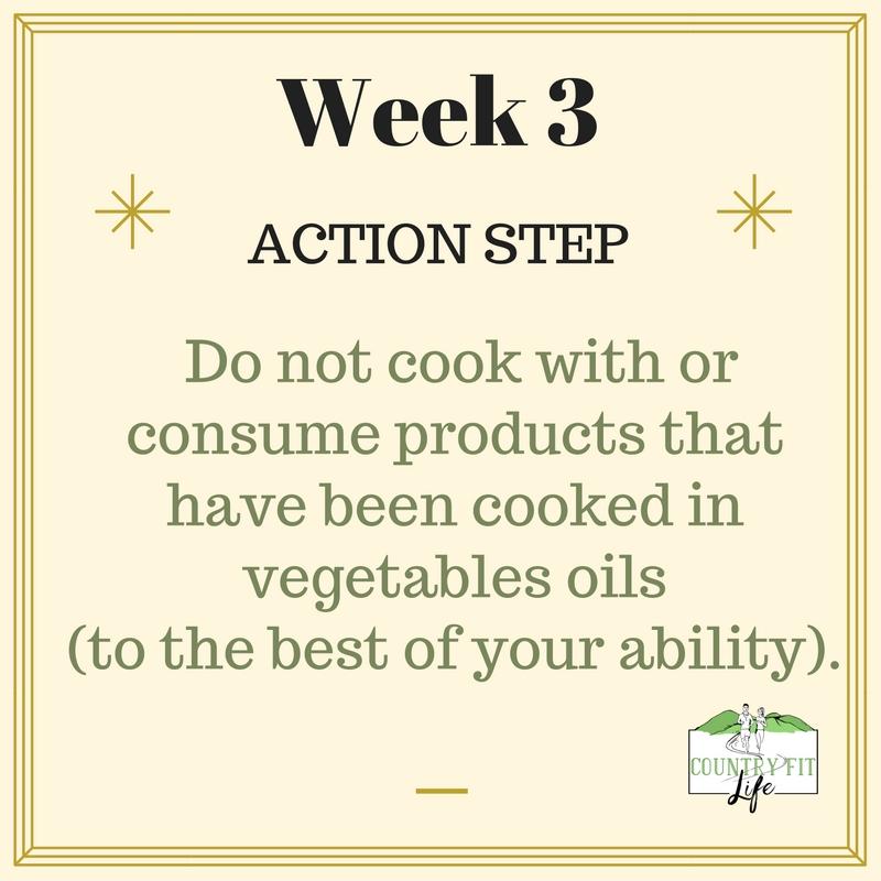 Week 3 action step