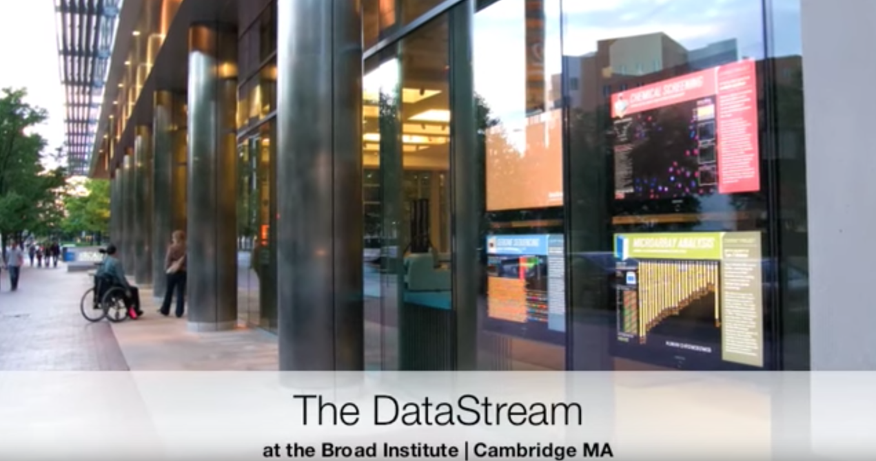 Video: The DNAtrium on the MIT Campus