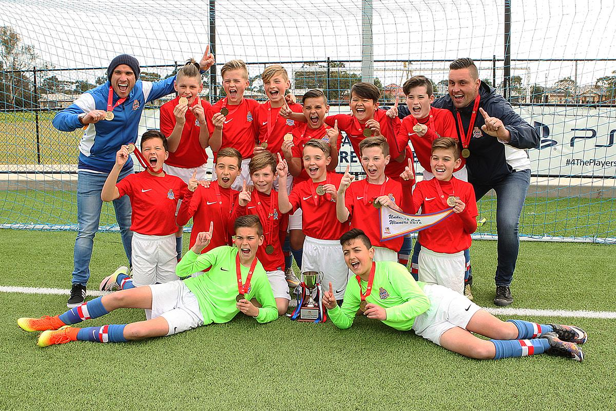Adelaide Croatia 'Raiders' U12 JPL - Federation Cup Winners 2016!