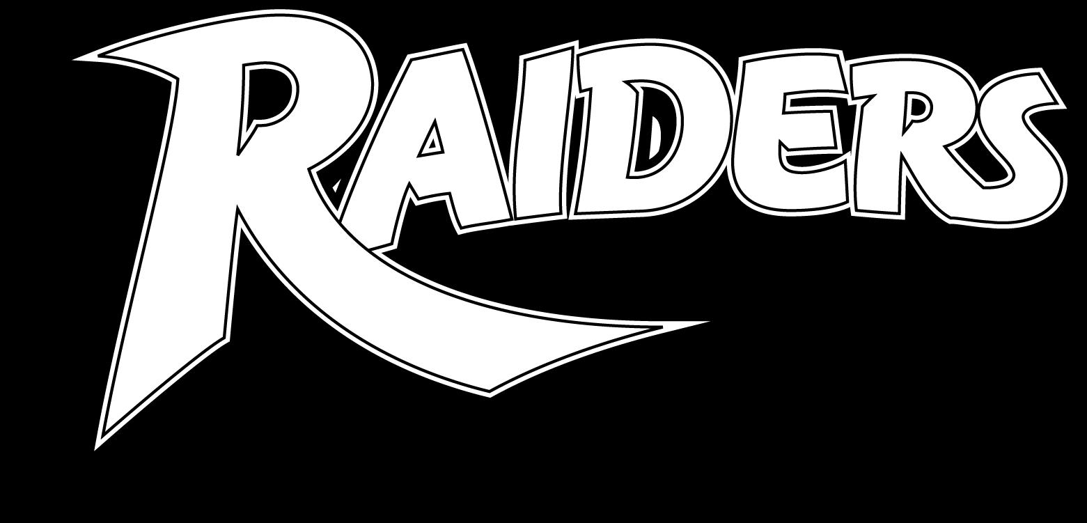 Raiders Logotype BW.png