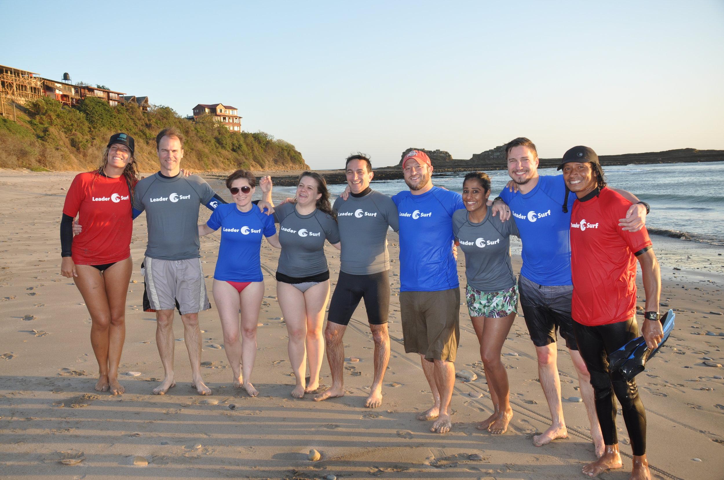 LeaderSurf morning surf session