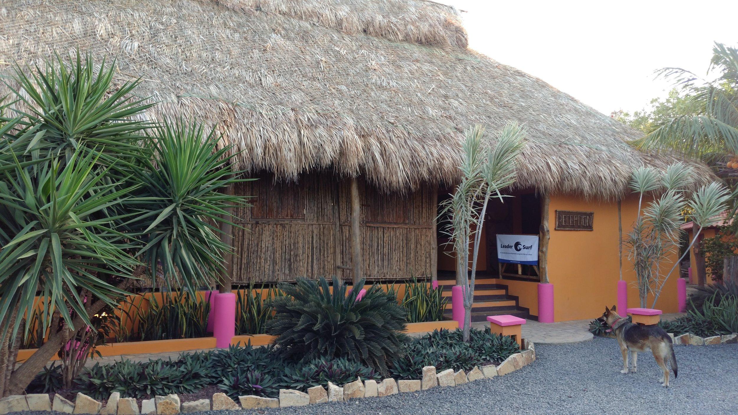 Entrance to the Buena Onda Beach Resort