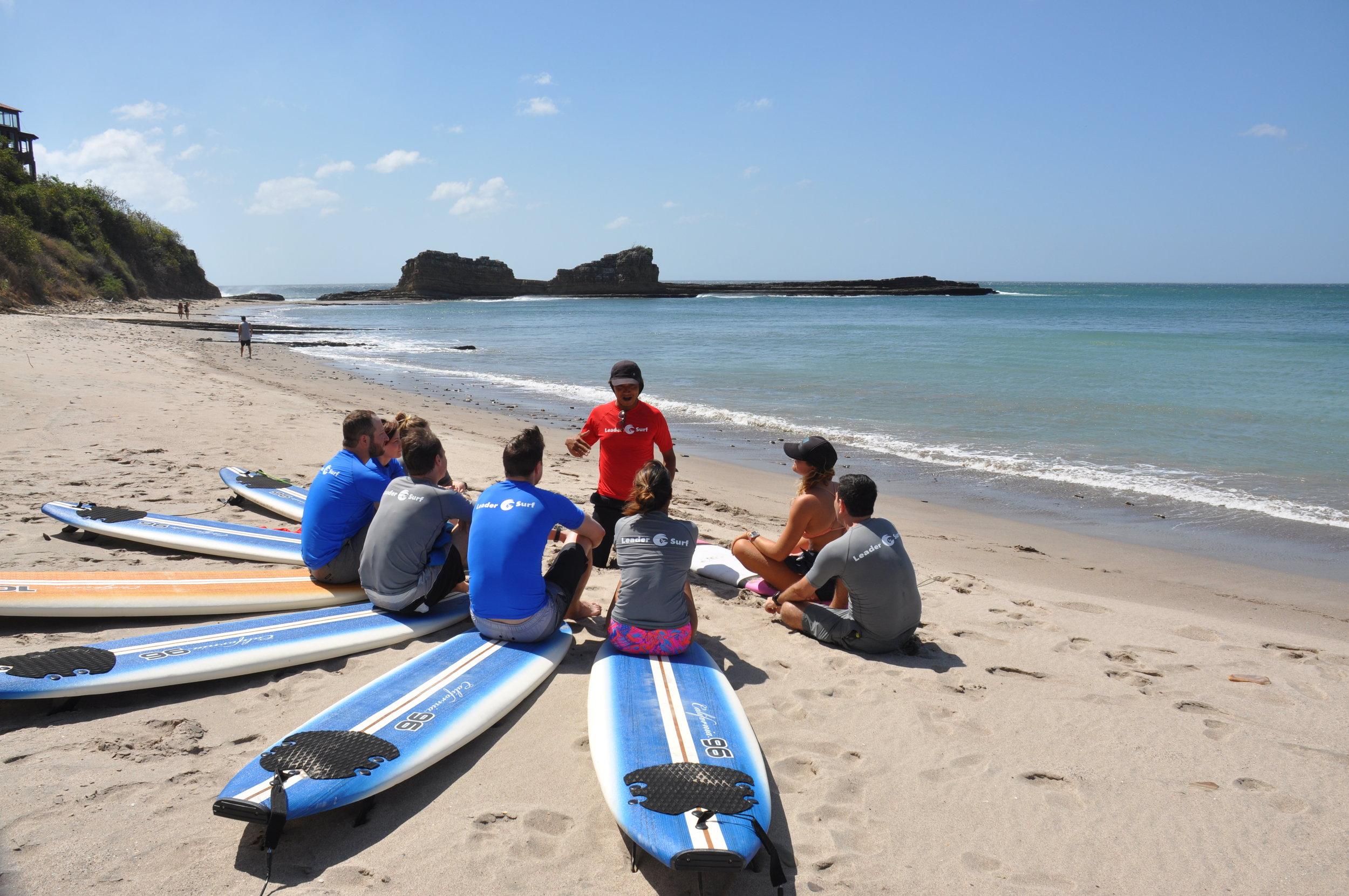 Erol teaching surfing 101