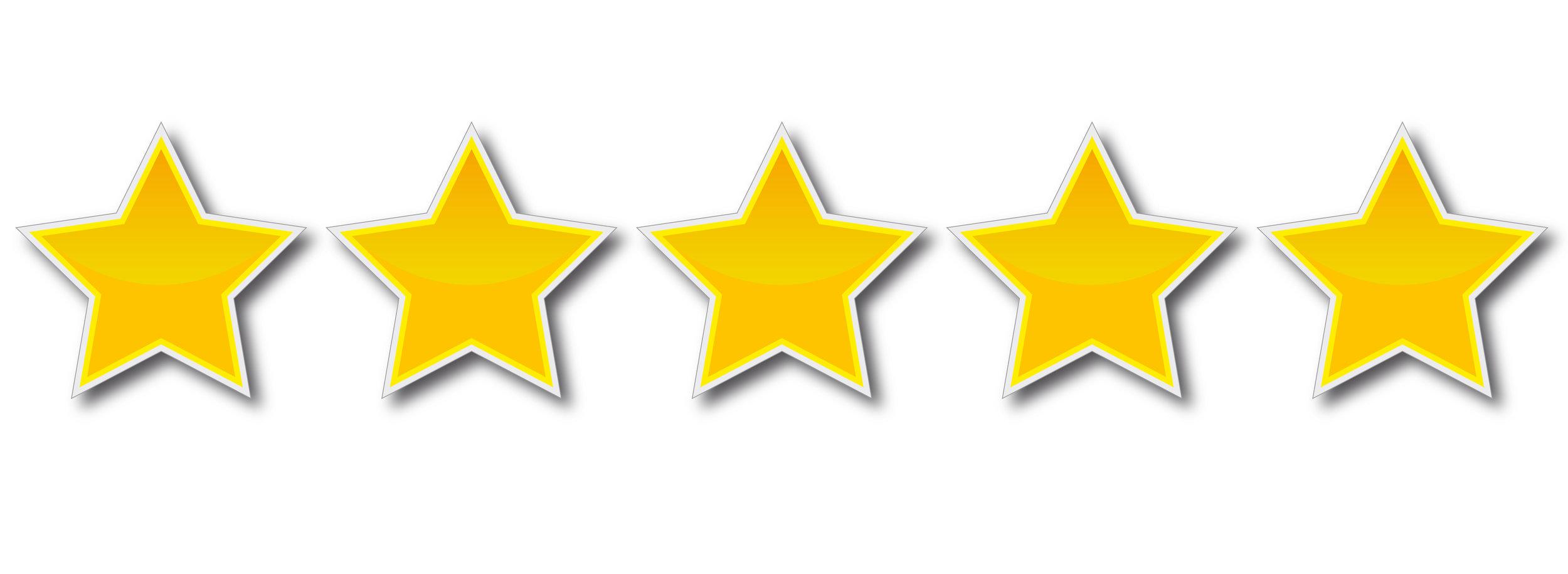 Five Star Rating for LeaderSurf
