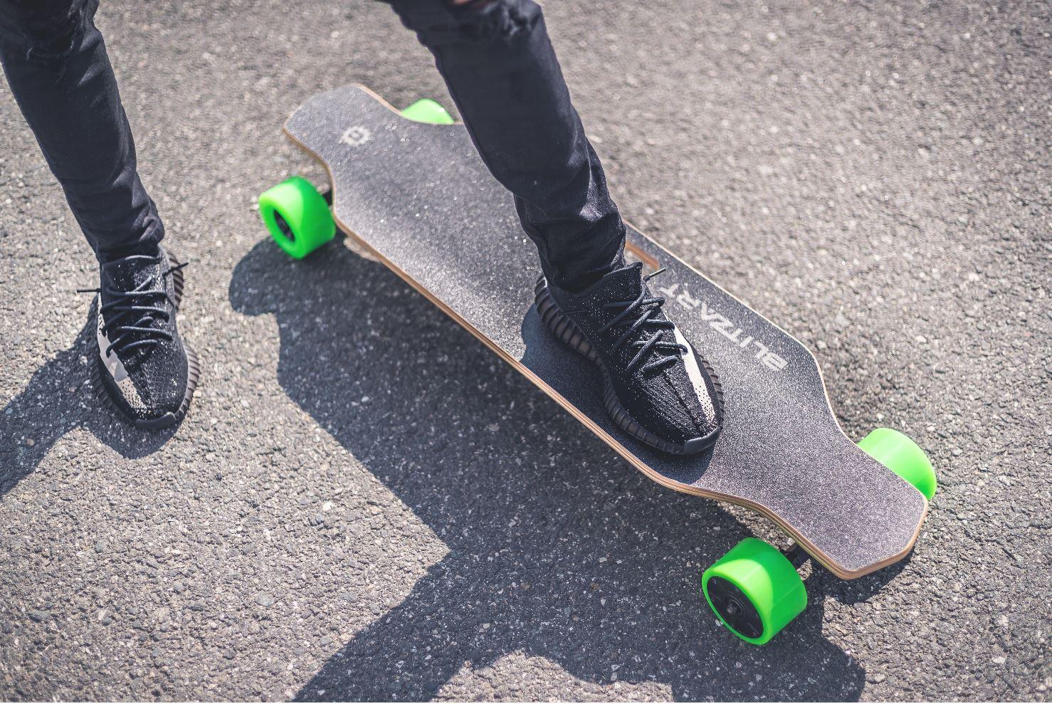Blitzart Hurricane Electric Skateboard