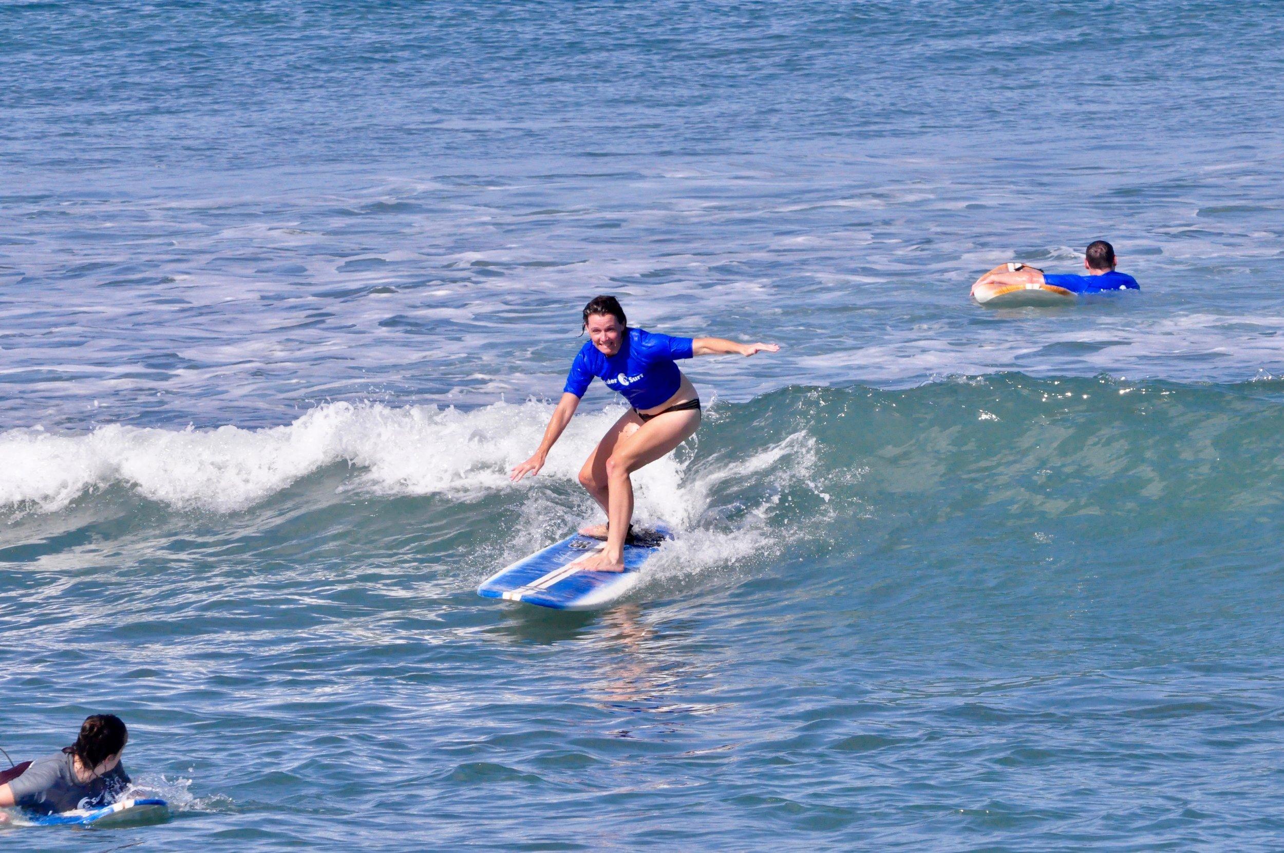 Diane Surfing