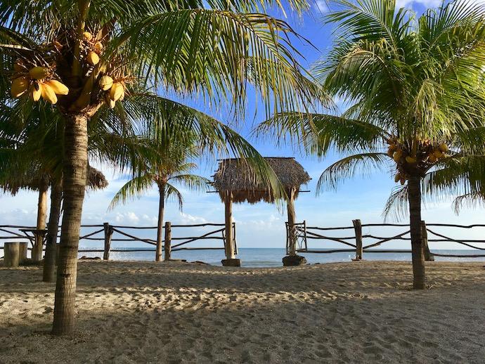 Buena Onda Beach Entrance