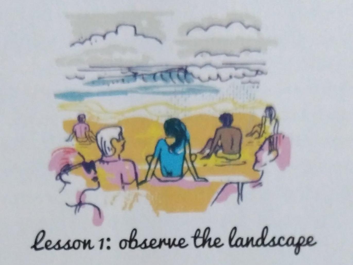 Lesson 1 Observe the Landscape