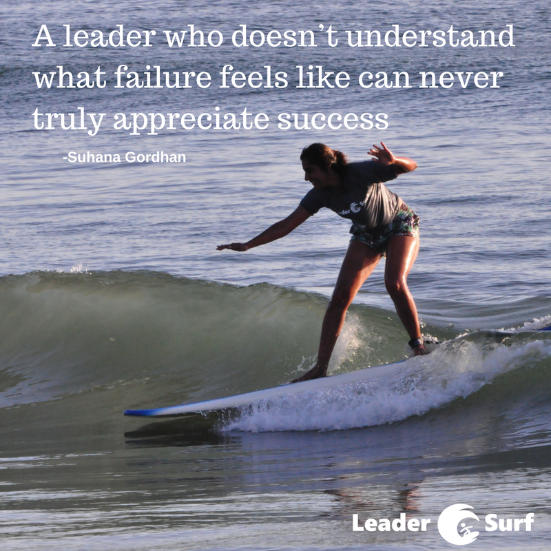 Suhana Gordhan LeaderSurf lessons