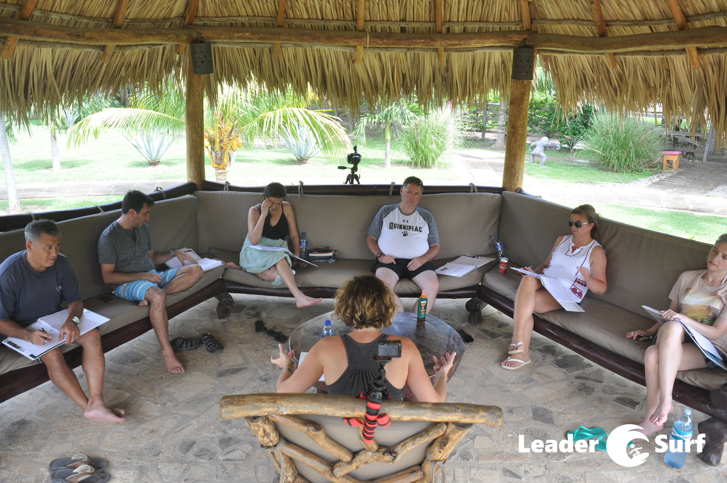 Business Challenge Session at LeaderSurf