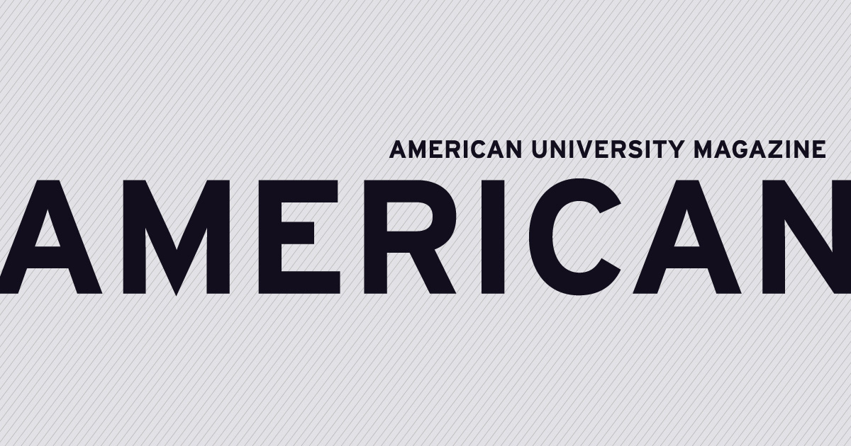 American University Magazine Logo