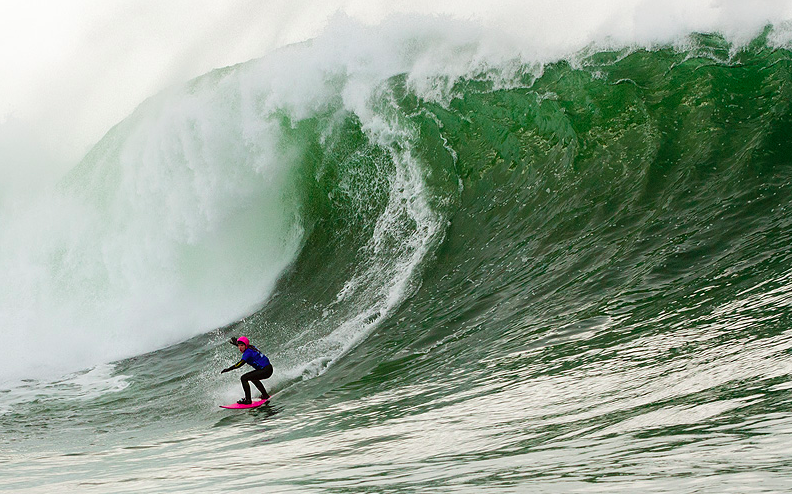 Easkey Britton Tackling her fears and a big wave