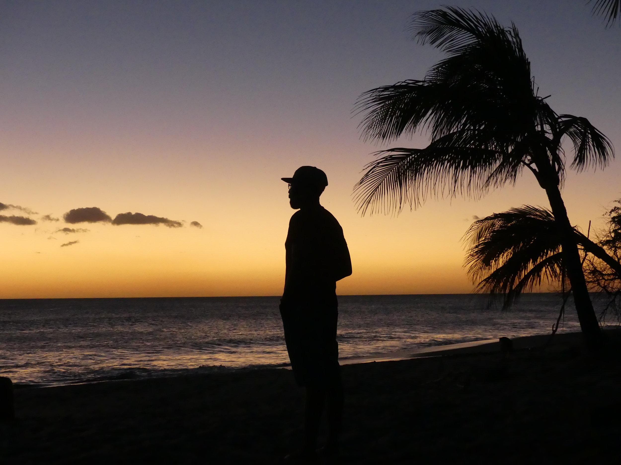 Loyiso Sunset Reflection