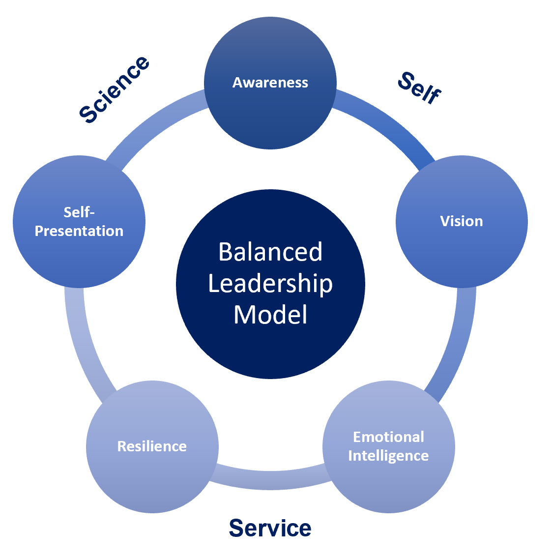 The LeaderSurf Balanced Leadership Framework