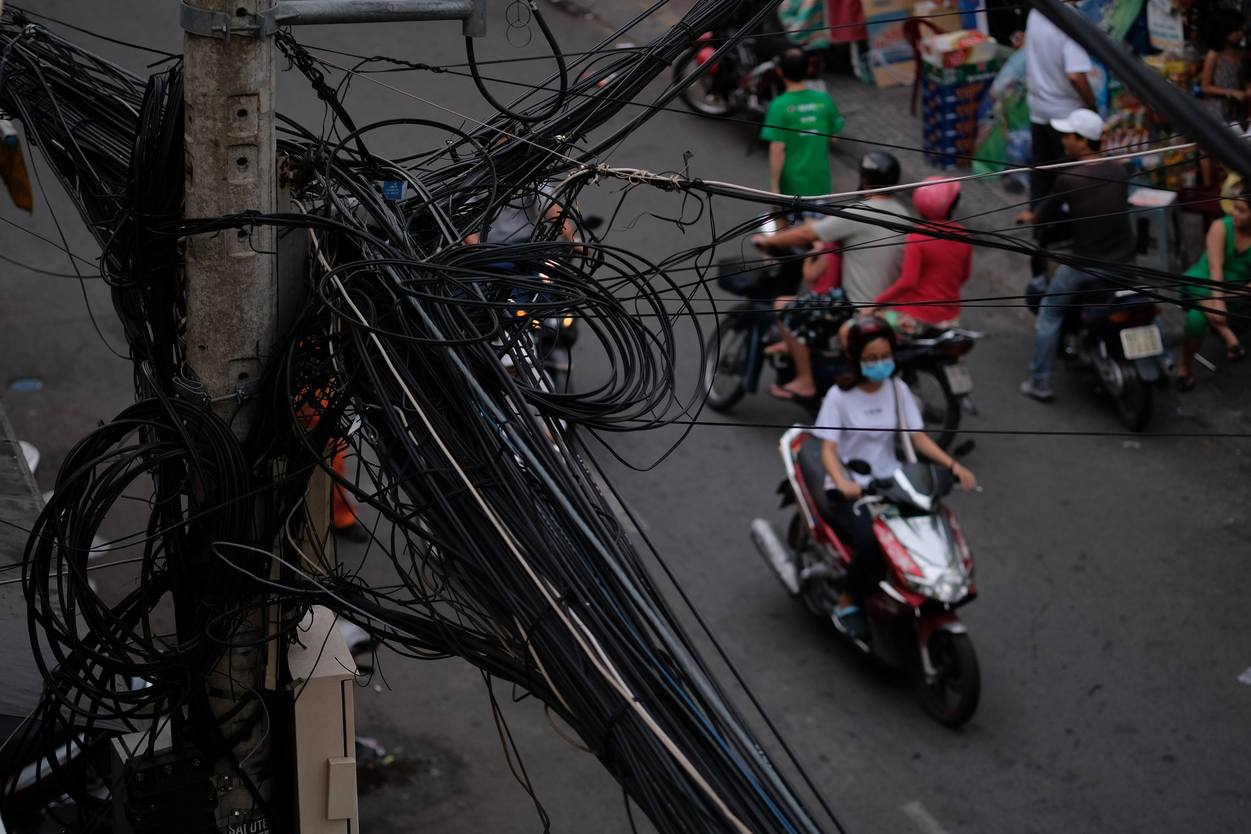 Typical HCMC wiring.