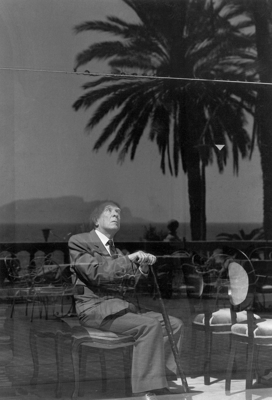 Jorge Luis Borges, Palermo, Sicily, 1984. Photo © Ferdinando Scianna/Magnum Photos