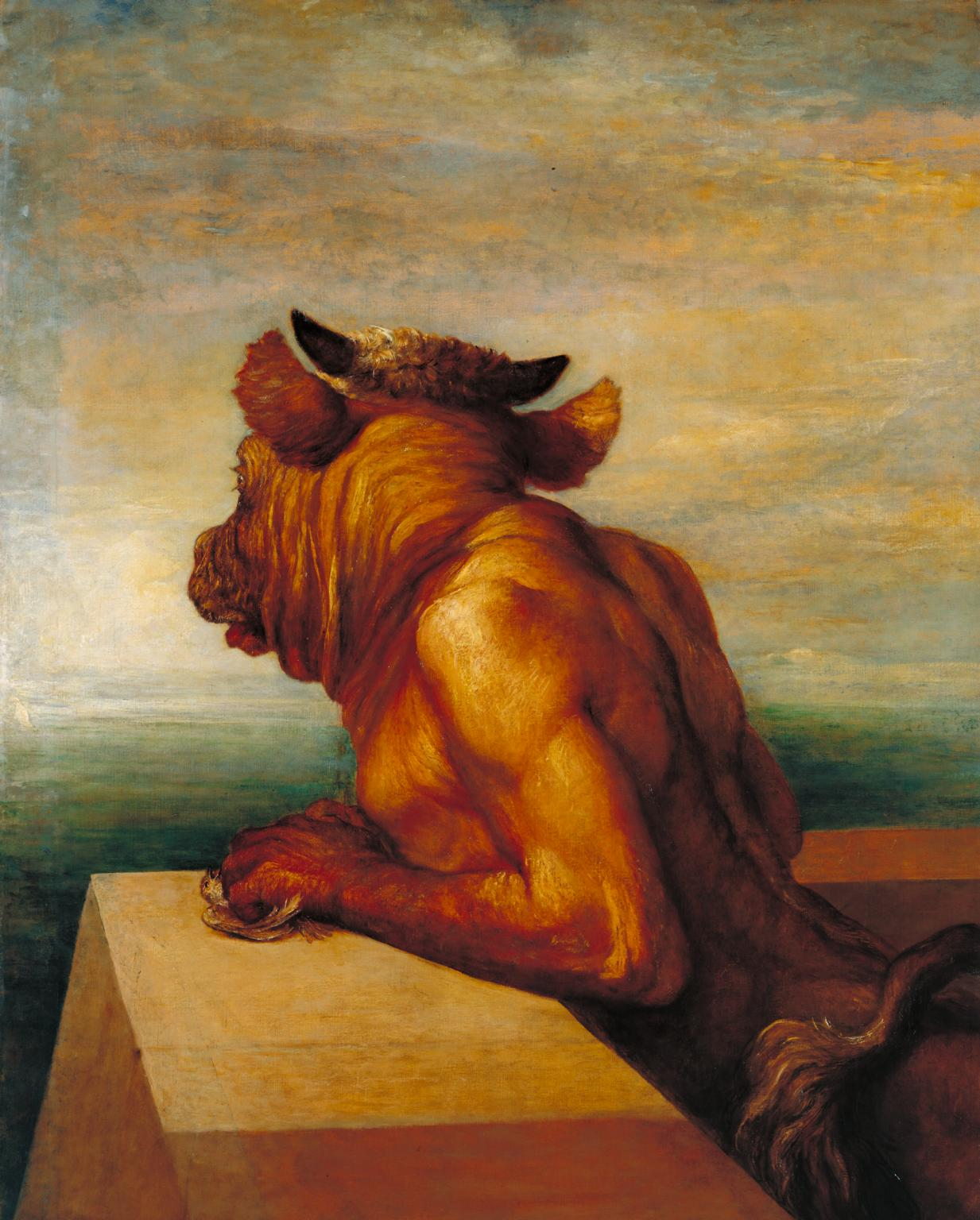 George Frederic Watts,  The Minotaur,  1885,  Photo © Tate Museum  CC-BY-NC-ND 3.0 (Unported)