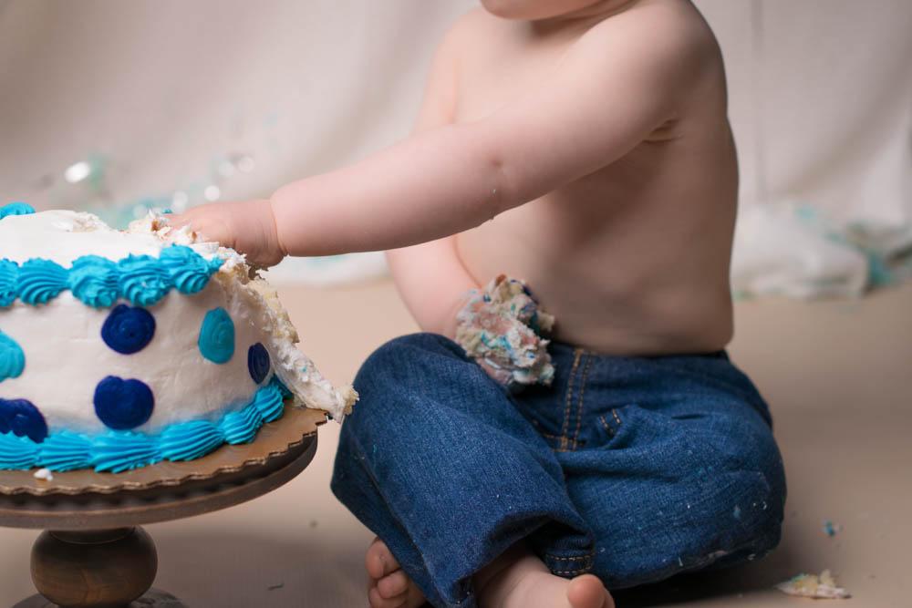 Baby First Birthday Cake