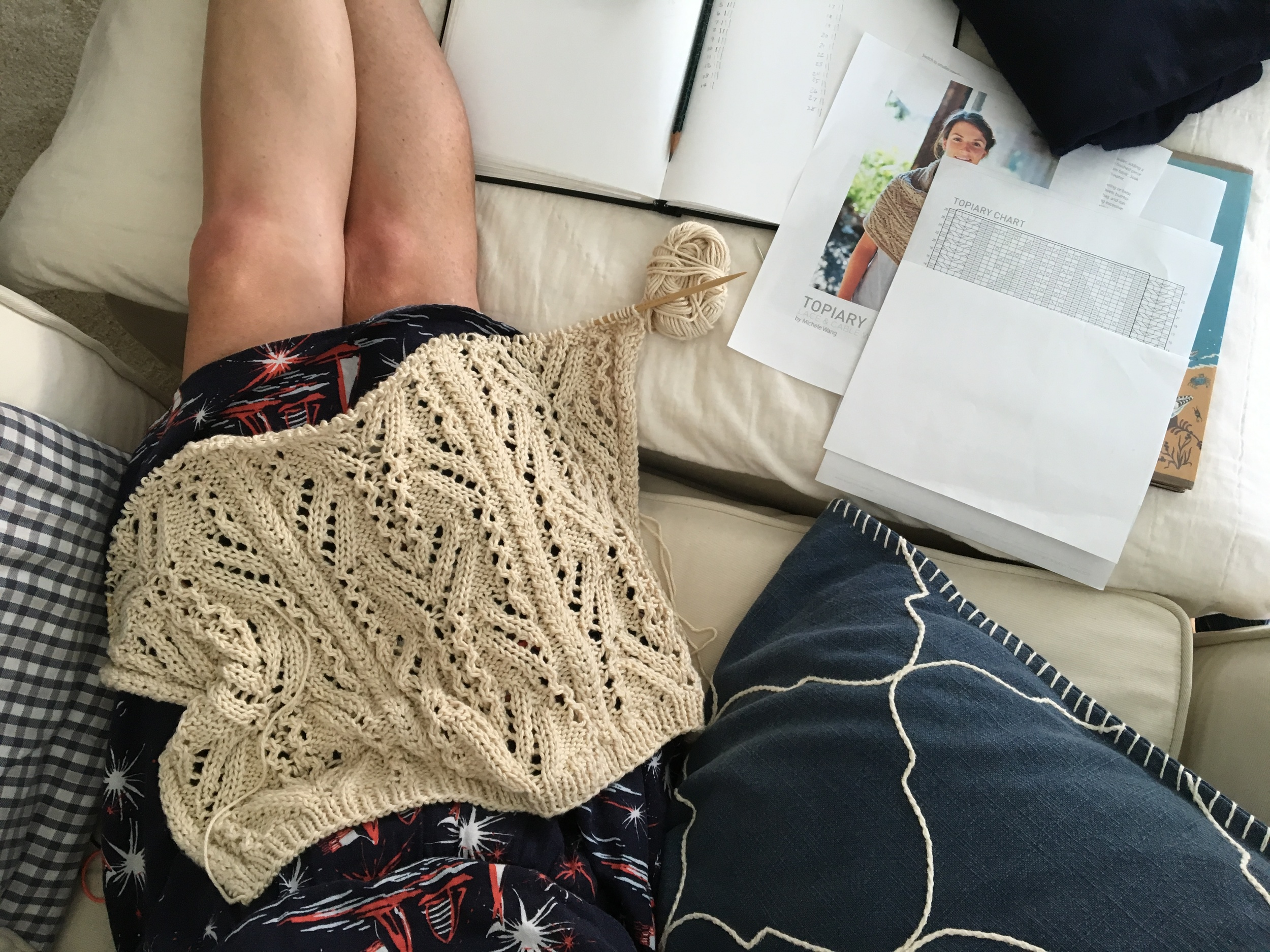 lace knitting